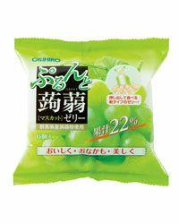 ぷるんと蒟蒻ゼリー 新パウチ マスカット  6個入×12袋 【オリヒロ】1