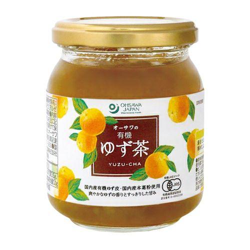 オーサワの有機ゆず茶 260g 【オーサワジャパン】1