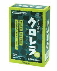 オーサワのクロレラ粒(石垣島産) 900粒 【オーサワジャパン】1