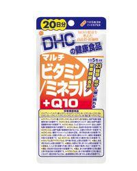 DHC マルチビタミンミネラル+Q10 20日分 100粒 【DHC】1