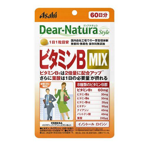 ディアナチュラスタイル ビタミンBMIX 60日分 60粒 【アサヒグループ食品】1