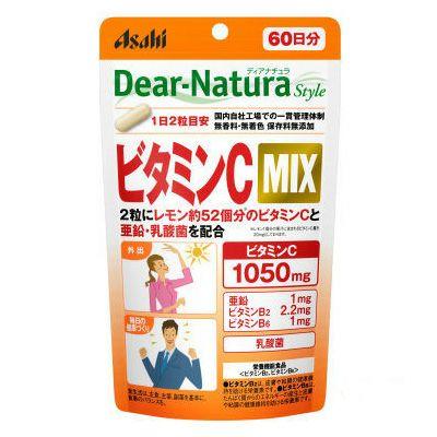 ディアナチュラスタイル ビタミンC MIX 120粒 【アサヒグループ食品】1
