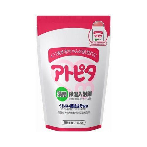 アトピタ 薬用保湿入浴剤 詰替用 400g 《医薬部外品》【丹平製薬】1