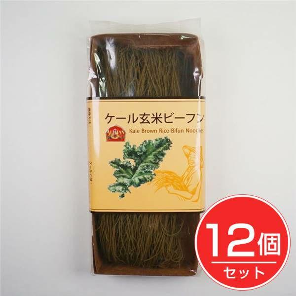 ケール玄米ビーフン 100g (Kale Brown Rice Bifun) ×12個セット 【アリサン】1