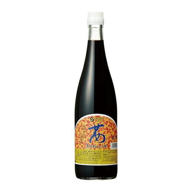 オーサワの茜醤油 720ml 【オーサワジャパン】1
