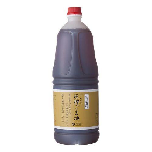 オーサワの圧搾ごま油 1650g 【オーサワジャパン】1