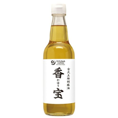古式玉締胡麻油 香宝 330g 【オーサワジャパン】1