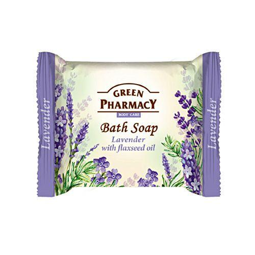 エルファ グリーンファーマシー ボディソープ Lavender with Flaxseed Oil 100g 【三和トレーディング】1