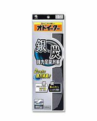 オドイーター 銀と炭 強力足臭対策 【小林製薬】1