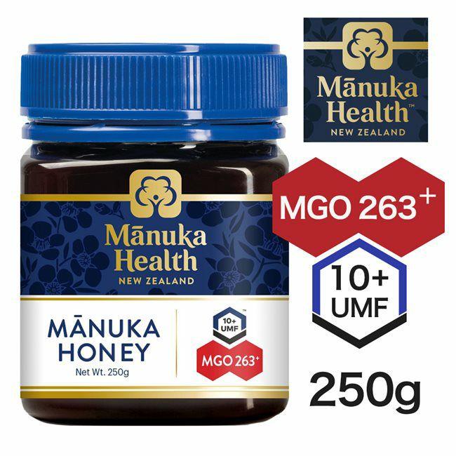 マヌカヘルス マヌカハニー MGO263+ UMF10+ 250g 【富永貿易】