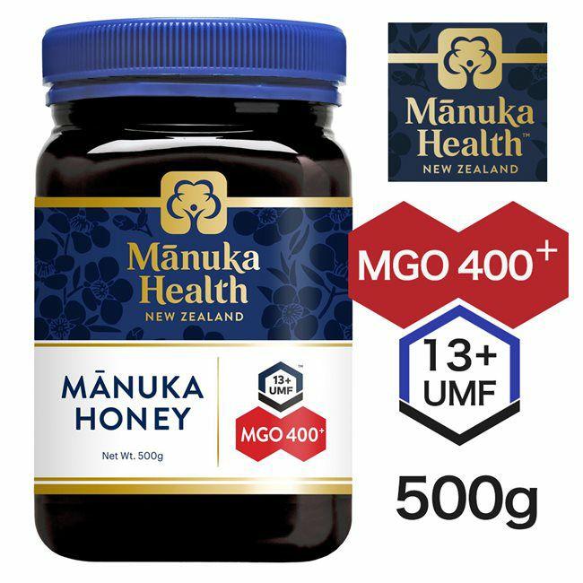 マヌカヘルス マヌカハニー MGO400+ UMF13+ 500g 【富永貿易】