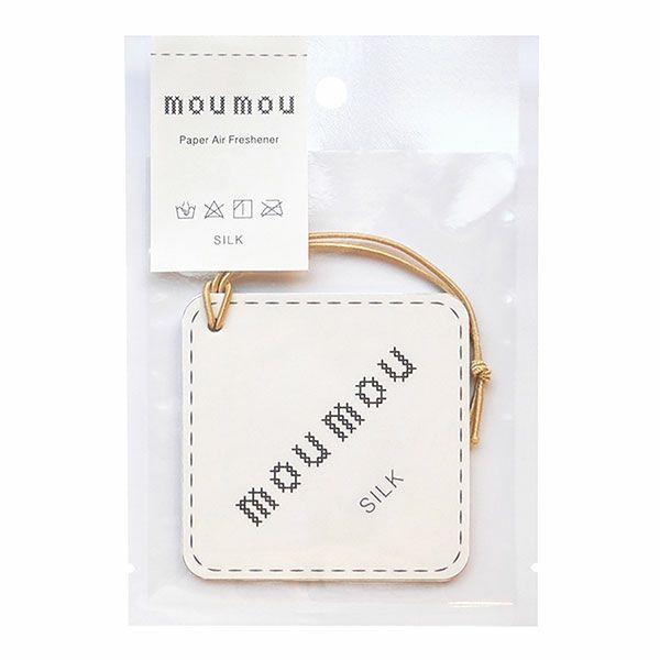 moumou ペーパーエアフレッシャー シルク 1枚 【大香】1