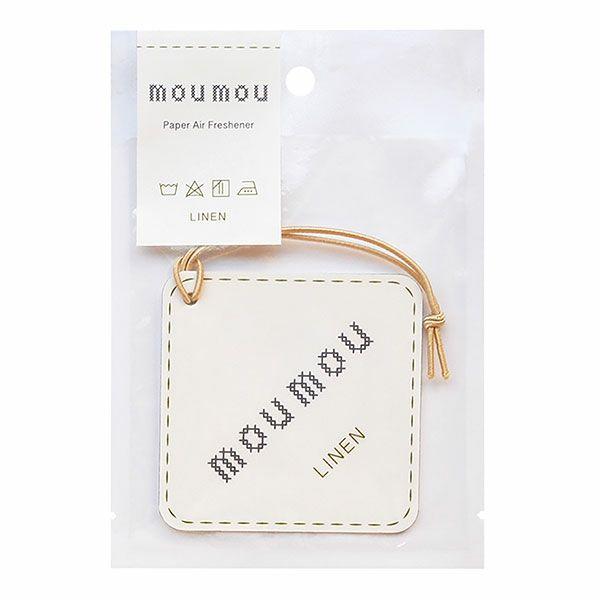 moumou ペーパーエアフレッシャー リネン 1枚 【大香】1