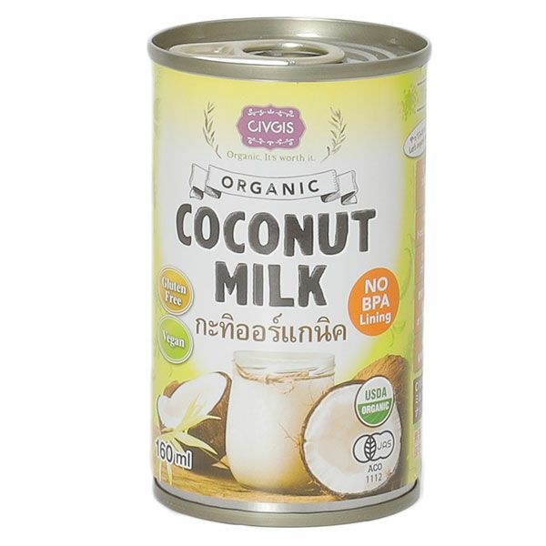 ニシキランバー オーガニック ココナッツミルク 160ml 【ニシキランバー】1